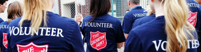 Volunteer for the Salvation Army
