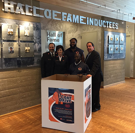 Chicago Bears Coat Drive