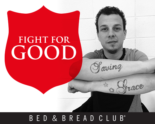 Fight for Good throughout Chicagoland. The road towards self-sufficiency starts and ends with the Bed & Bread Club.