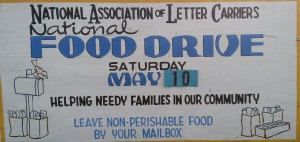 Postal Carrier Food Drive