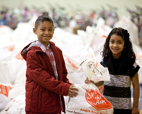 The Salvation Army Angel Tree in Chicagoland