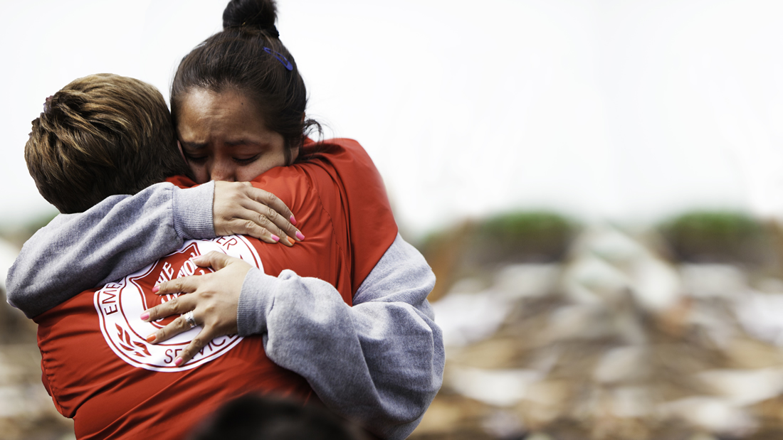 When disaster strikes, The Salvation Army is often among the first on the scene.