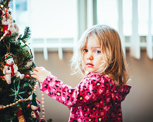 Select an Angel from The Salvation Army Angel Tree program