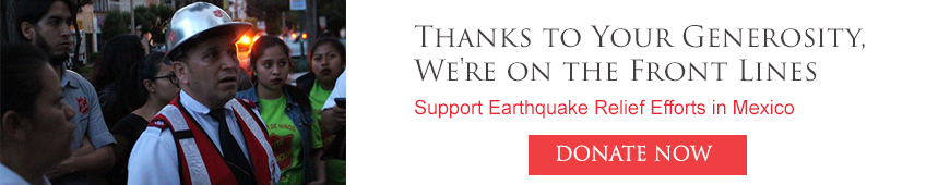 Donate to Mexico Earthquake Relief Effort with The Salvation Army