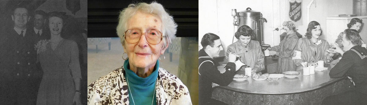 Salvation Army WWII 'Doughnut Girl' Sue McLean turns 100