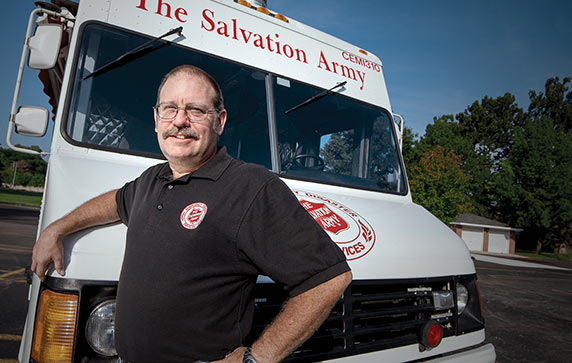 Disaster Relief Volunteer  - Salvation Army Eastern Michigan Division.