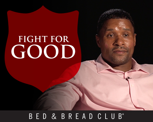 Join us in the fight against poverty. Poverty comes in many forms, but fighting it starts with the Bed & Bread Club.