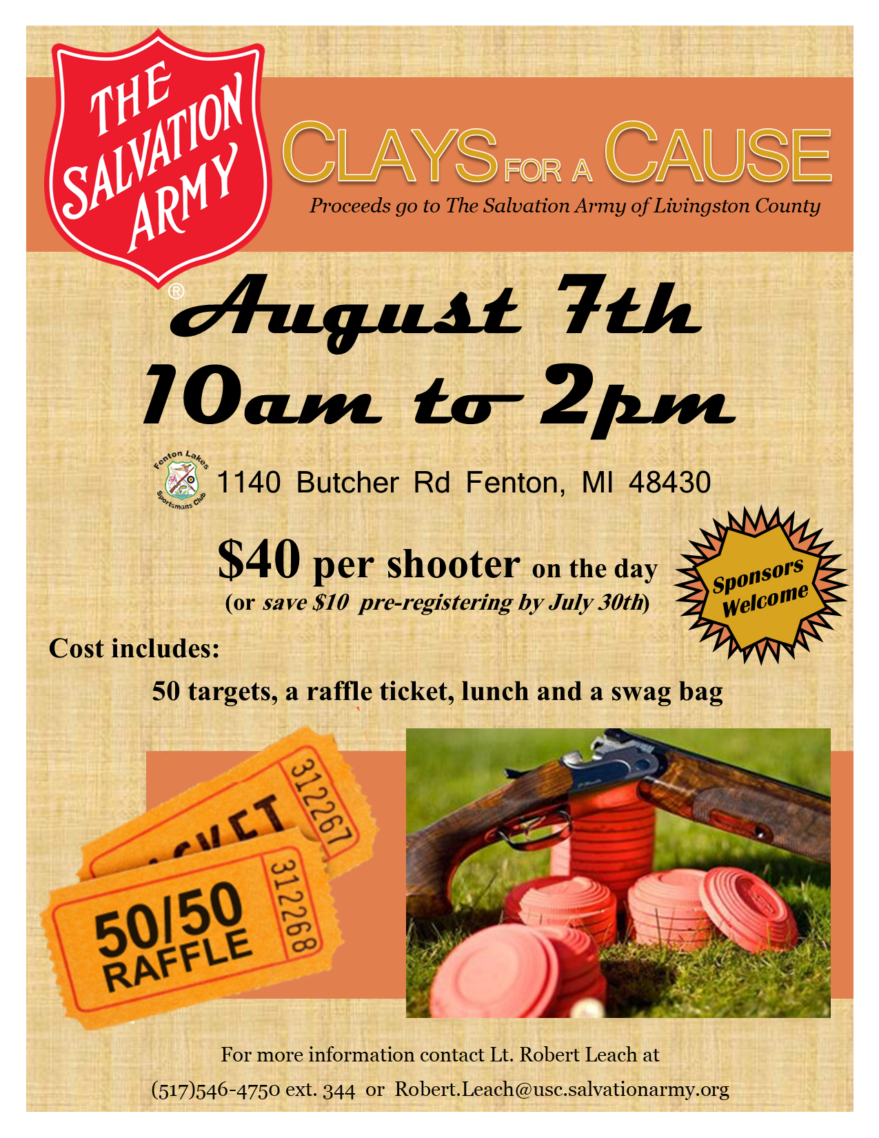 Clays for a Cause Image