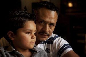 Hispanic Father and Son