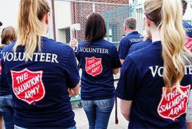 A team of volunteers