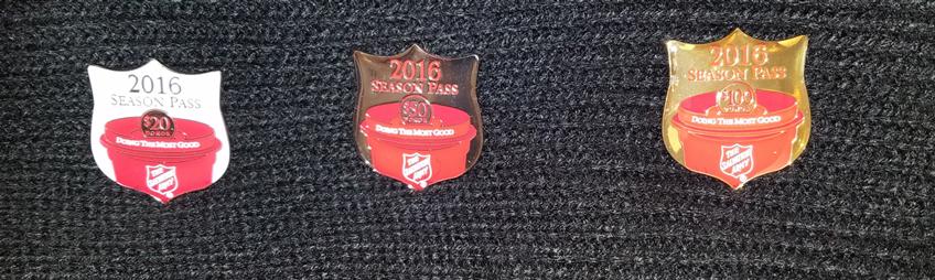 Season Pass Pins