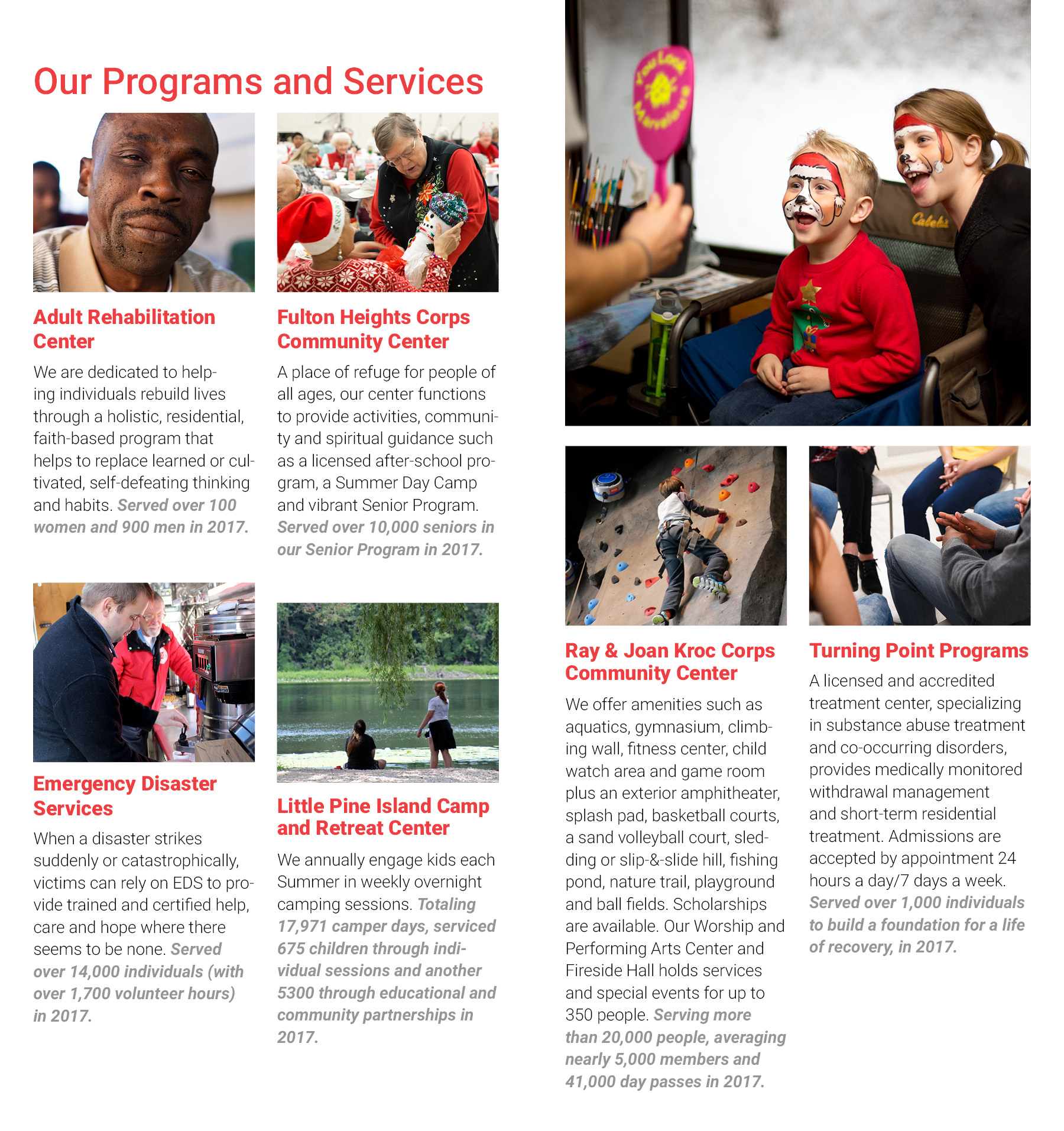 Kent County Annual Report 2017 - Kent County Salvation Army