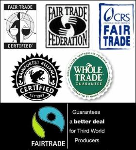 anti human trafficking shopping logos