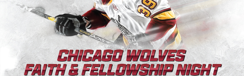 Chicago Wolves Faith and Fellowship Night Image