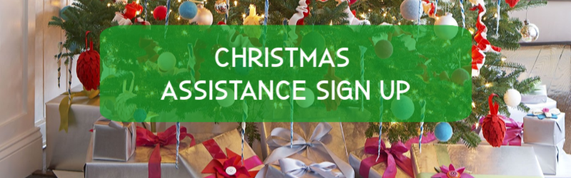 Christmas Assistance Sign Up Image