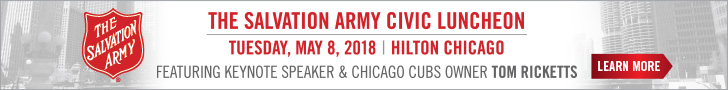 The Salvation Army Civic Luncheon Featuring Keynote Speaker and Chicago Cubs Owner, Tom Ricketts