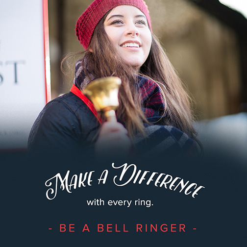 Make a Difference Ring Bells with The Salvation Army