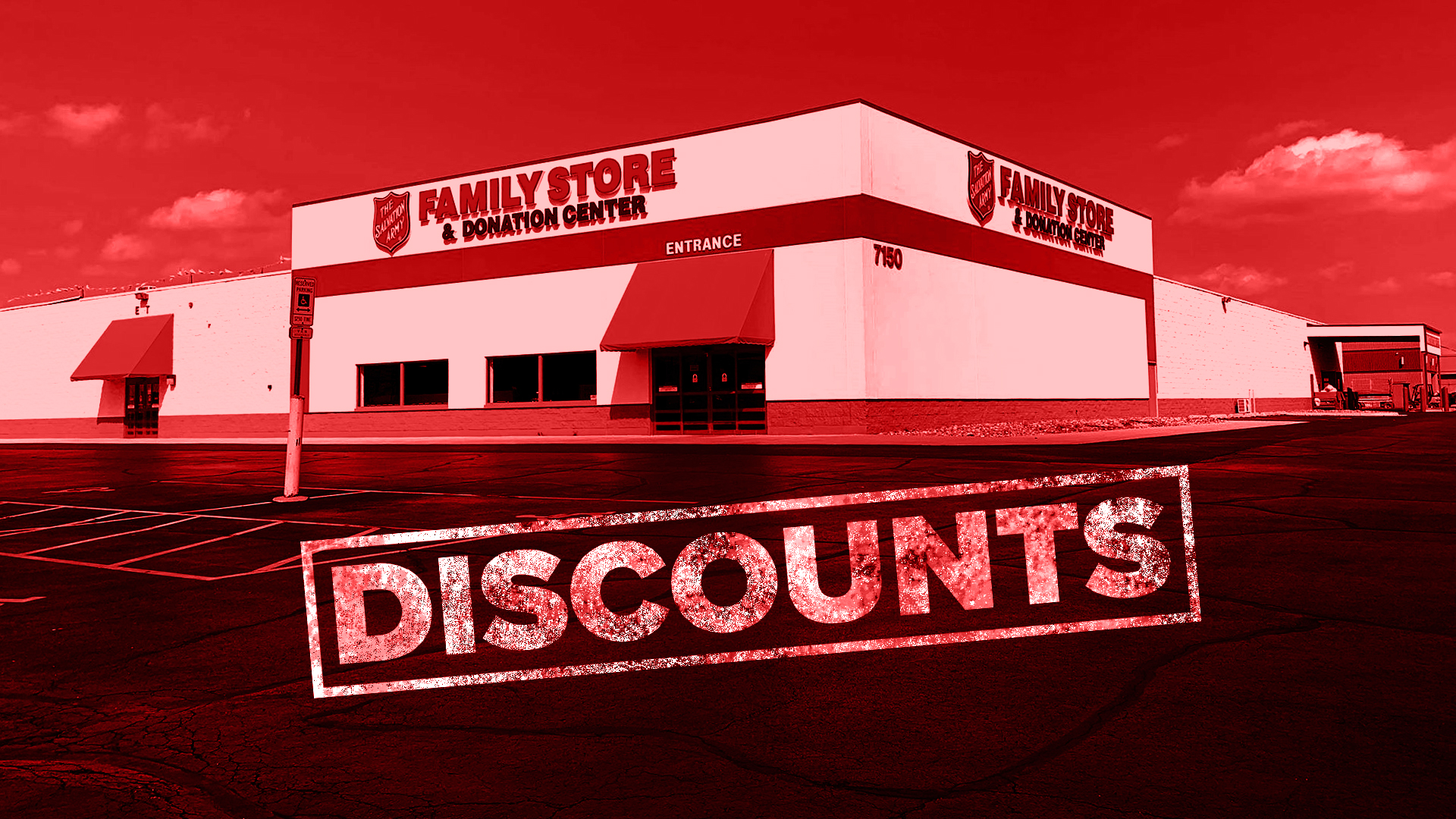 Discounts at The Salvation Army