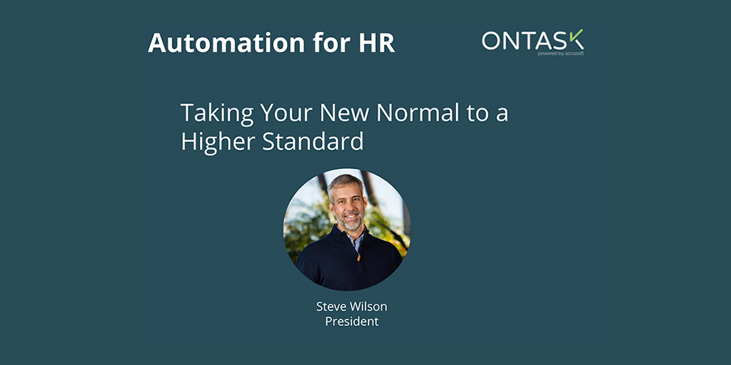 Automation for HR presentation cover