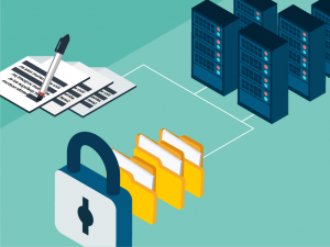 Use third-party software to enable client confidentiality with features like redaction and digital rights management