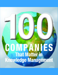 KMWorld 100 Companies That Matter in Knowledge Management
