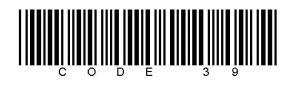 39 barcode