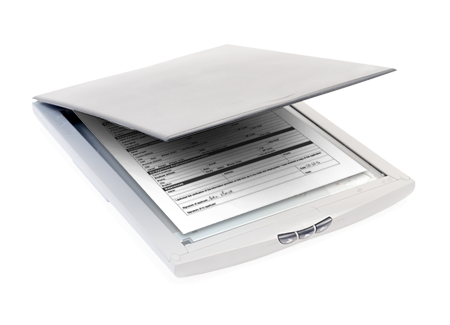 Scanner with Form