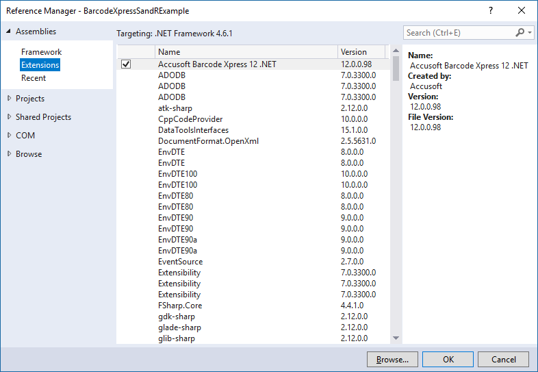 How To Generate & Read Barcodes In VB NET - Accusoft