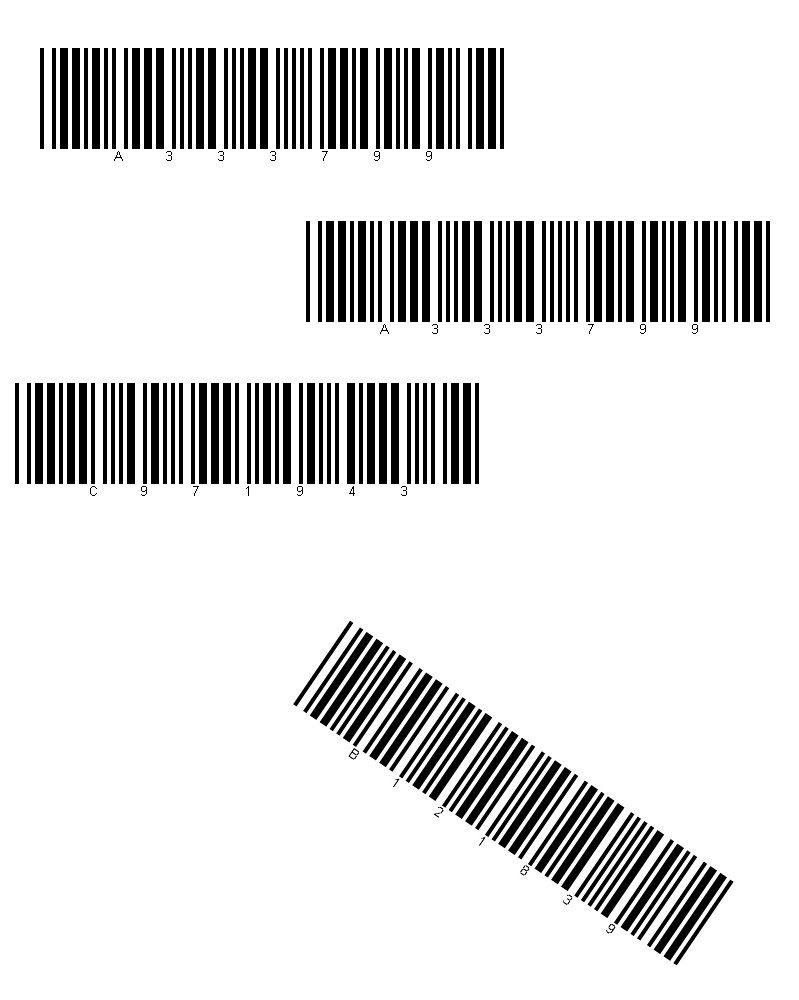 How To Generate Read Barcodes In Vbnet Accusoft Circuit Board Barcode Labels Barcoding Blog Not Only Do We Have Multiple But Looks Like Someone Slapped On One Of Them At An Angle This Is Included The Sample As Received 002