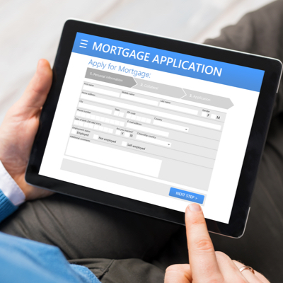Digital mortgage form