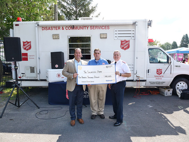 The Salvation Army Empire State Division Receives $100,000 Grant from the Walmart Foundation