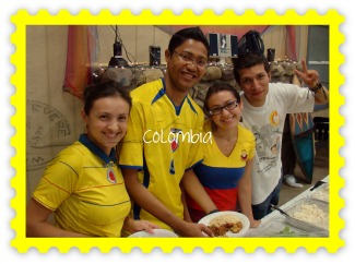 Staff from Colombia