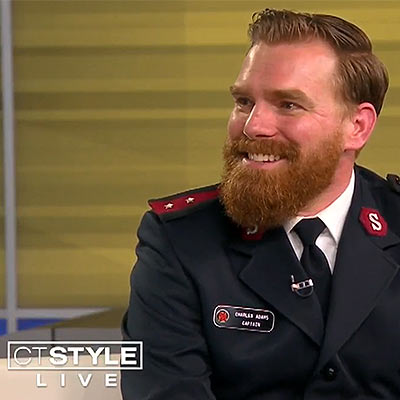 Celebrating National Salvation Army Week with Captain Charles Adams