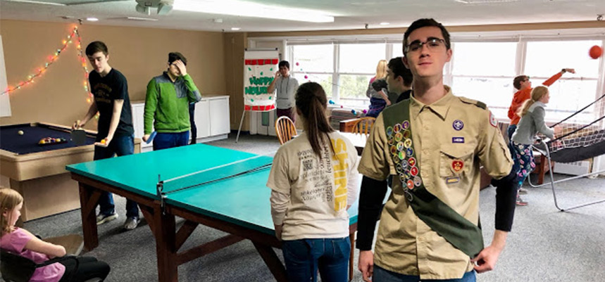 Eagle Scout Project at Marshall House Family Shelter
