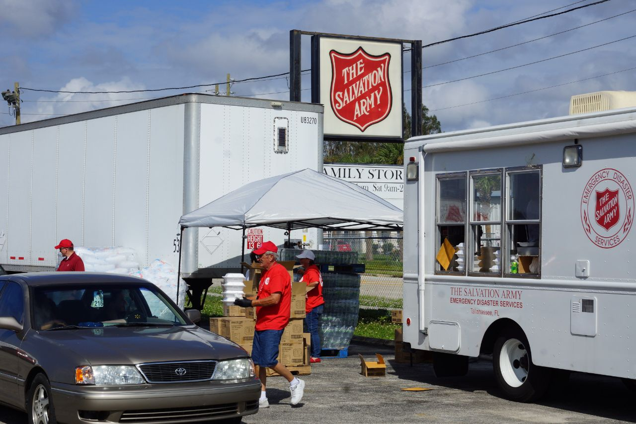 The Salvation Army Hurricane Relief Efforts