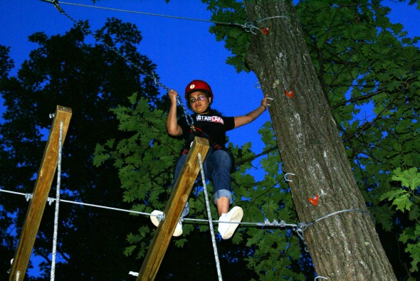 Female staff on 