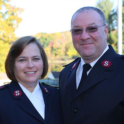Majors Kathleen & Steven Stoops