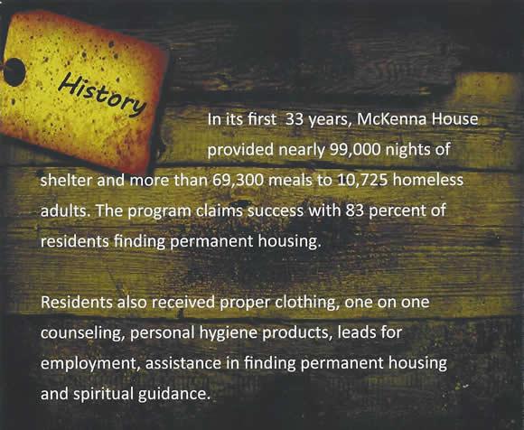 McKenna House: History