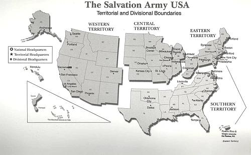 territoriesandboundaries three other salvation army usa