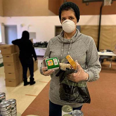 Rhode Island Volunteer gives back to community