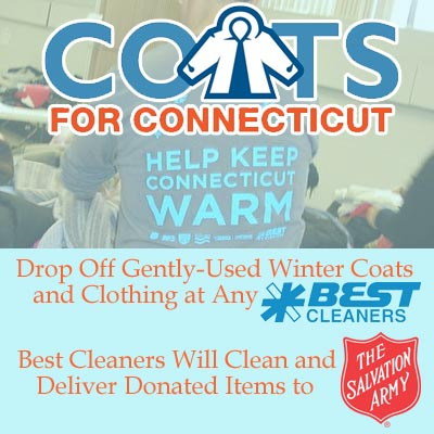 Best Cleaner and Salvation Army partner for coats