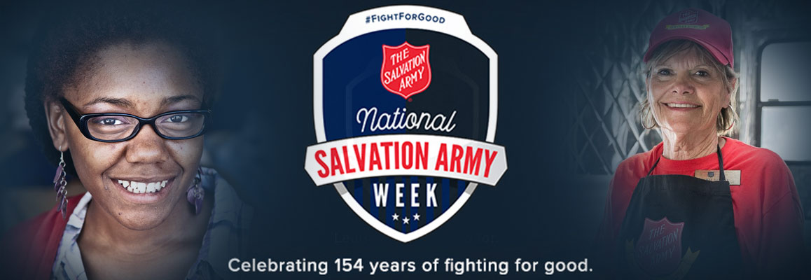 National Salvation Army Week 2019
