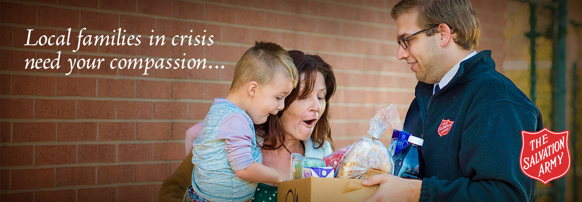 Local families in crisis need your compassion