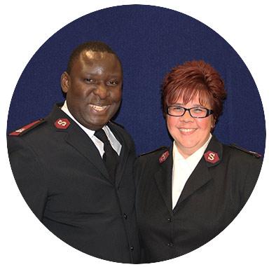 Majors Elijah & Valerie Kahn