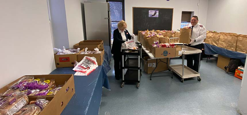 The Salvation Army in Hartford Providing Comfort for Long Haul