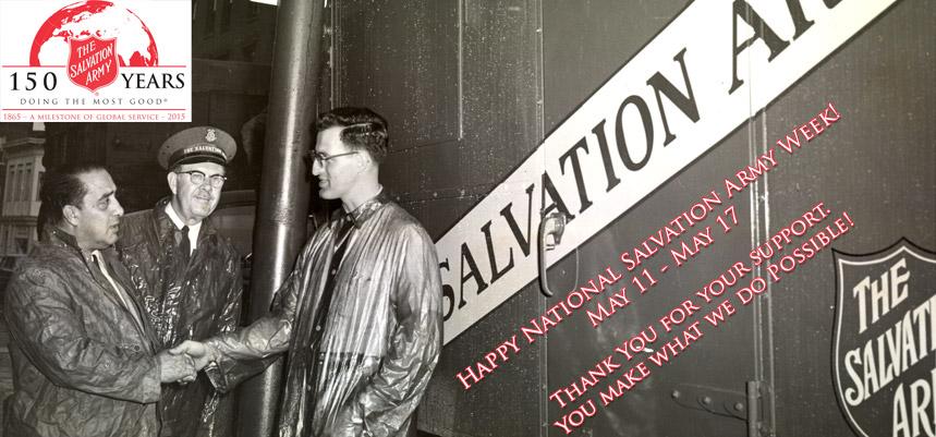 National Salvation Army Week 2015
