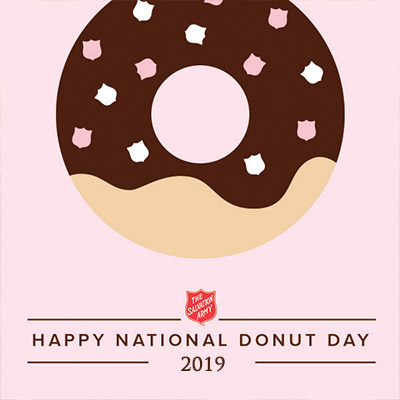 The Salvation Army Donut Day 2019