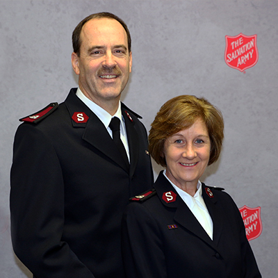 The Salvation Army Southern New England Division Leaders!