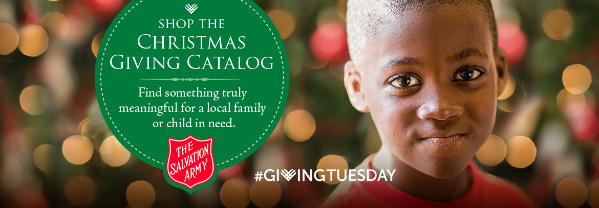 The Salvation Army Christmas Giving Catalog Header Image