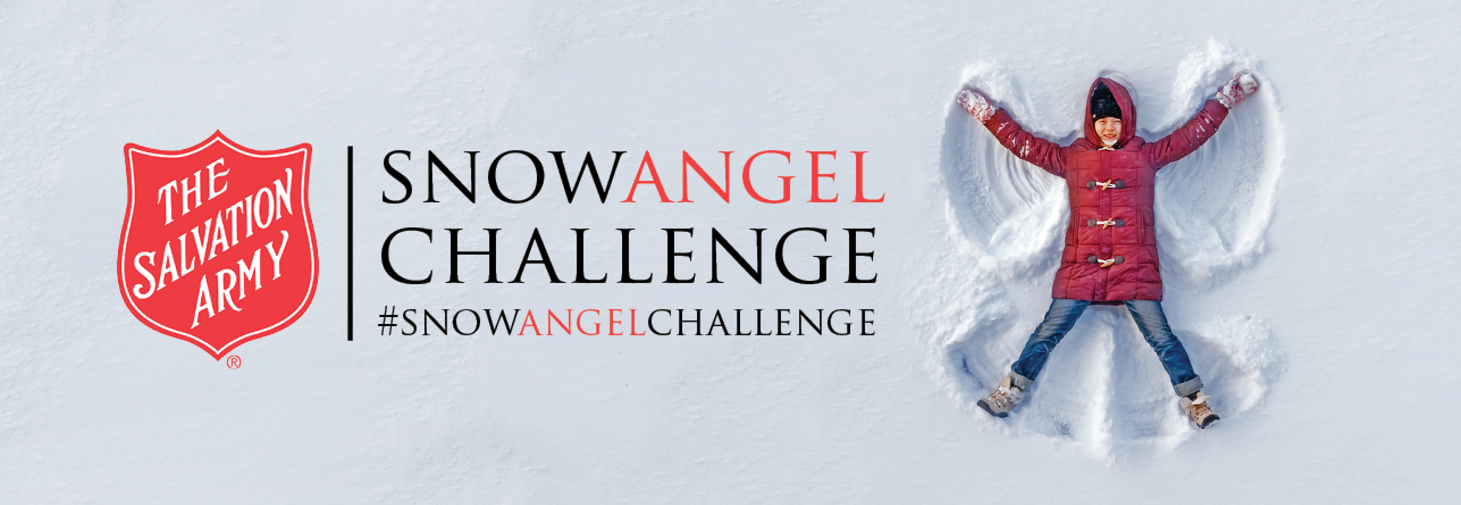 The Salvation Army #SnowAngelChallenge